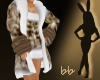 (bb) WhiteTigerCoatDress