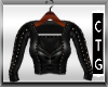 CTG STUDDED TOP/JACKET