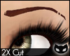 [SIN] Cut Eyebrows - Red