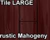 TileLarge rusticMahogeny