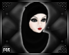 <MR> Long Hijab Black