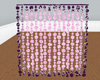 PinkPlush Beaded Curtain