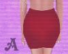 Deep Red Skirt