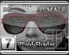 [BE] Red Plaid|Shades F