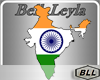 BLL India Flag-Map