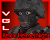 Kevlar Helmet Night Camo