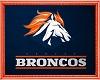 *L* Broncos Rug