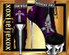 [L] Purple CROSS Boots F