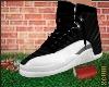T| Black & White Jordans