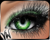 Stormy Green Eye Makeup