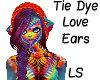 Tie Dye Love ears