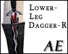 Ruby Steel Shin Dagger-R