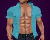 LT Blue Open Shirt