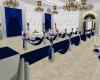 Royal wedding in blue