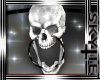 Skull Monocle /white