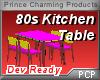 PCP~80s Kitchen Table