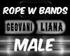 ROPE W BANDS MALE