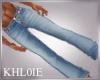K city light blue jeans