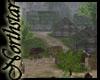 ~NS~ Saxon Village scene