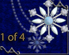 VA Snowflake Necklace