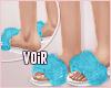 $ BC Fur Slipper