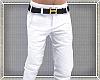 White Pants w/gold