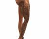 Sexy Right Thigh Tatto