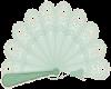 Sticker green fan