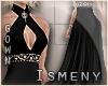 [Is] Halter Black Gown