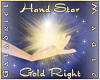 Hand Star (Gold Right)