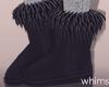 Deddy Bear Fur Boots