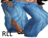 RLL BLUE SPLIT JEANS