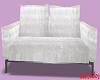 White Velvet Couch