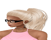 { jd } ponytail blonde