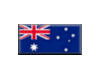 Australia beveled button