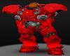 Terran Marine Helm Red