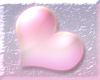 shiny pink heart