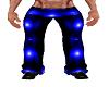 BLUE PVC PANTS