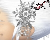 Snowflake Gem Hair Piece