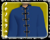"Rai"" KungFu Suit Blue"