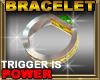 Emerald Trigger Bracelet