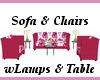 HotPink Floral Set 7p