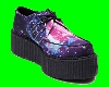 creeper galaxy shoes m