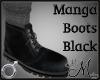MM~ Manga Boots Black