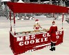 Mrs Claus Cookie Stand