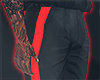 I│Pants Black/Red