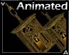 Hanging Gold Lantern