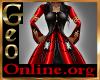 Geo KYRA black red