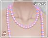 A  Pastel Necklace (A)