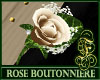 Boutonniere Rose Ivory